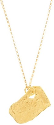 Alighieri The Ox 24kt Gold-plated Necklace - Womens - Yellow Gold