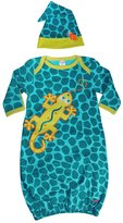 Sozo Gecko Baby Gown and Cap Set