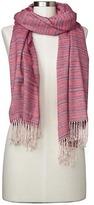 Gap Cozy spacedye fringe-trim scarf