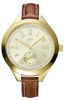 JBW Women's J6309B Analog Display Japanese Quartz Brown Watch