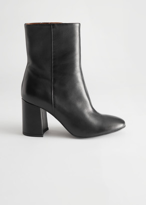 And other stories High Leather Ankle Boots
