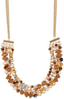 Joe Fresh Multi Stone Collar Necklace
