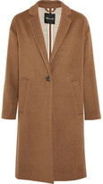 Madewell Monsieur Wool-blend Felt Coat - Brown