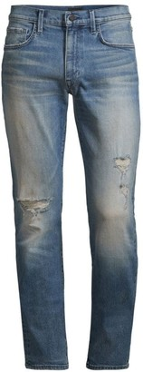 Joe's Jeans Asher Slim-Fit Ripped Jeans