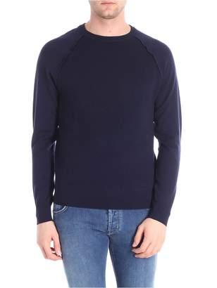 Paolo Pecora Round Neck Wool Cotton