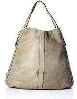 Givenchy Beige & Light Pink Leather & Calf Hair Tinhan Hobo Handbag