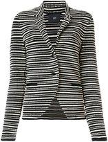 Steffen Schraut striped blazer - women - Spandex/Elastane/Viscose - 34