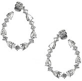 Nadri Talia Cubic Zirconia Hoop Earrings