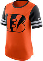 Nike Women's Cincinnati Bengals Gear Up Fan Top T-Shirt