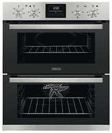 Zanussi ZOF35661XK Built Under Double Oven, Stainless Steel