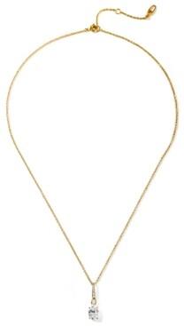 "Eliot Danori Cubic Zirconia Pendant Necklace, 16"" + 2"" extender, Created for Macy's"