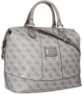 GUESS Scandal Medium Box Satchel (Grey) - Bags and Luggage