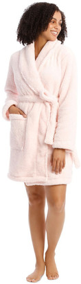 S.O.H.O New York Woven Short Fleece Robe Baby