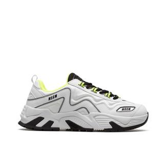 MSGM White Sneakers Vortex