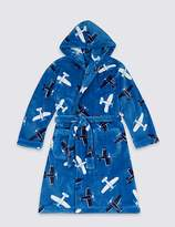 Marks and Spencer Hooded Dressing Gown with Belt (1-16 Years)