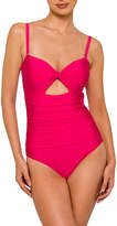 Nancy Ganz Ruched Swimsuit