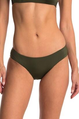 Becca Hipster Ruched Back Bikini Bottoms