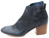 Keep Navy Woven Ankle Boot