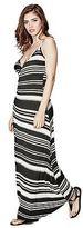 G by Guess GByGUESS Women's McKayla Wrap Maxi Dress
