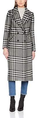 Benetton Women's Coat, (Black 100), (Size: 48)