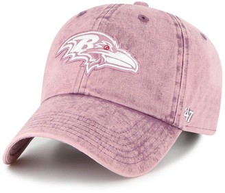 Women's '47 Purple Baltimore Ravens Snow Cone Clean Up Adjustable Hat