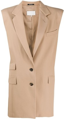 Maison Margiela Sleeveless Blazer Jacket