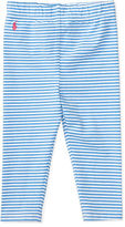 Ralph Lauren Girl Striped Stretch Cotton Legging