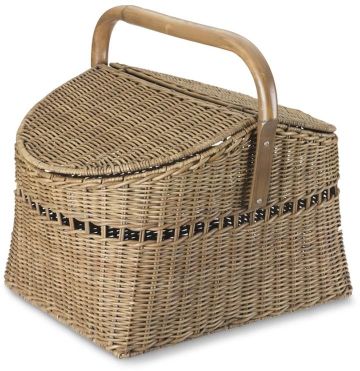 Williams-Sonoma Rattan Woven Picnic Basket