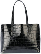 Aspinal of London textured oversized tote - women - Calf Leather - One Size