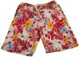 Soul Star Soulstar Mens Mango Hawaiian Patterned Floral Long Board/Swim Shorts