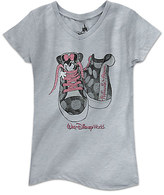 Disney Minnie Mouse Sneakers Tee for Girls - Walt World