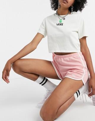 Vans Sassed II shorts in pink