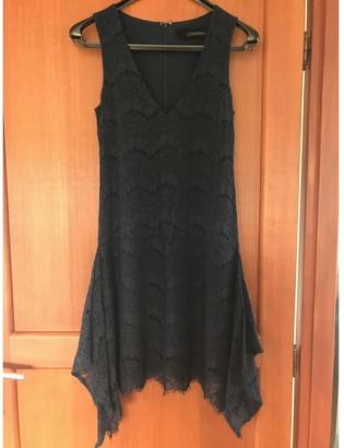 Patrizia Pepe Navy Lace Dress for Women