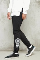 Forever 21 FOREVER 21+ Compass Graphic Sweatpants