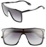 Givenchy Women's 53Mm Mask Sunglasses - Black/ White