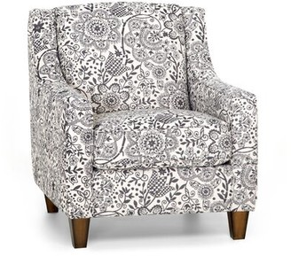 Canora Grey Stockbridge Armchair Canora Grey Upholstery Color: Marigold - Plaid