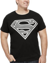 Novelty T-Shirts Bioworld Superman Short-Sleeve Foil Graphic Tee - Big & Tall