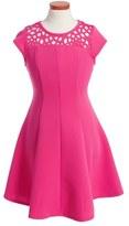 Ten Sixty Sherman Girl's Cap Sleeve Dress