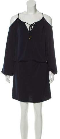 f88229e1e3 Michael Kors Cold Shoulder Dress - ShopStyle