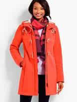 Talbots Bonded Sherpa Coat