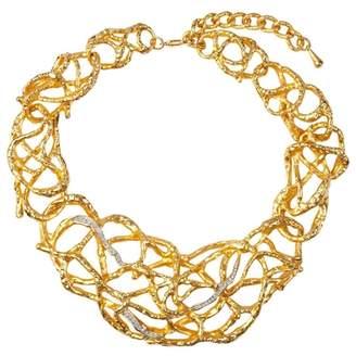 Susan Caplan Vintage 1990s Vintage Elizabeth Taylor Vine Swarovski Crystal Necklace