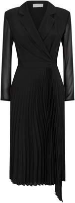 Sandro Pleated Dress