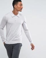 Reiss Polo In Merino Wool