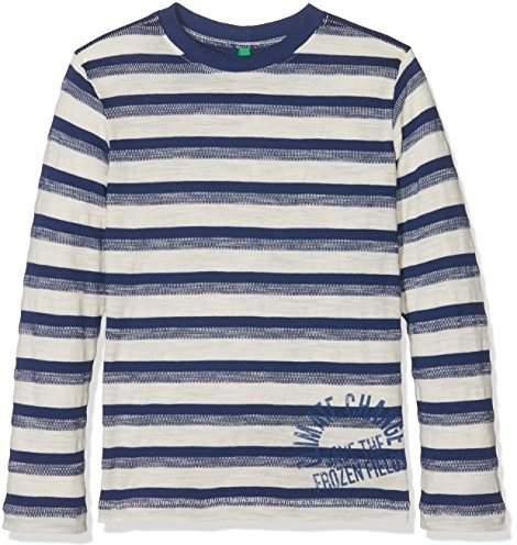 Benetton Boys L/S T-Shirt,(Manufacturer size: 2XL-EL)