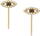 Ileana Makri Chained Eye stud earrings