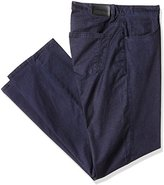 Perry Ellis Men's Big and Tall Bid and Strech Cotton 5 Pocket Pant