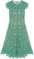 Lela Rose Corded Lace Dress - Mint