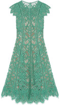Lela Rose Corded Lace Dress - US2