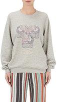 Chloé Women's Toucan-Graphic Cotton Sweatshirt-LIGHT GREY