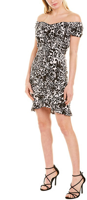 Milly Ella Ruched Mini Dress
